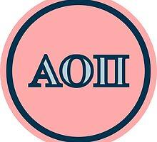 Alpha Omicron Pi Letters by Sara Ellen Thomas