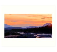 Quill Creek Sunrise Art Print