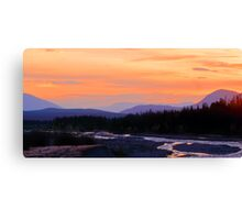Quill Creek Sunrise Canvas Print