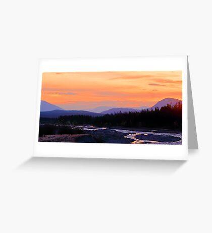 Quill Creek Sunrise Greeting Card