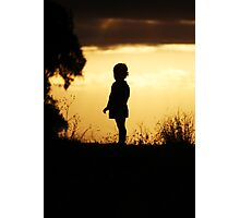 Sweet Silhouette Photographic Print