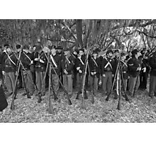 Union muster BW Photographic Print