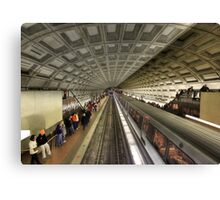 The Metro Canvas Print