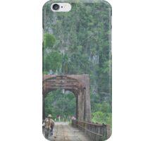 cuba donkey bridge iPhone Case/Skin