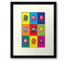 Viva la Resolución - Warhol Edition Framed Print
