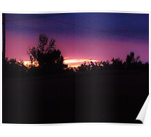 Sun Cresting the Sky Poster