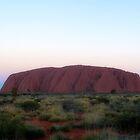 Uluru Sunset - Ayers Rock  by Vicki73