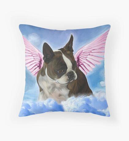My Angel Princess Amby  Throw Pillow