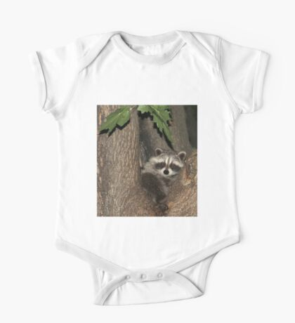Baby Raccoon One Piece - Short Sleeve