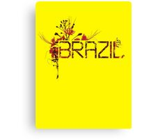 Flowering Brazil Canvas Print