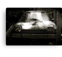 AMC Pacer at Kaufdorf B&W Canvas Print