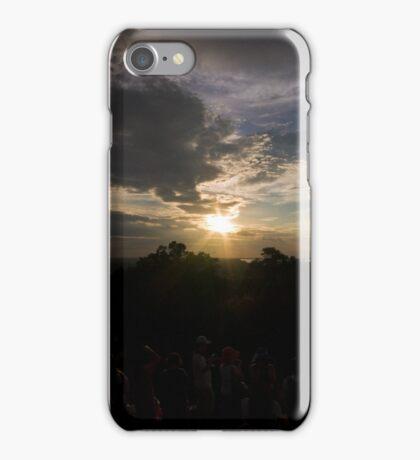 Sunset view from Phnom Bakheng iPhone Case/Skin