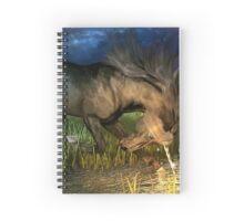 Unicorn Eclipse  Spiral Notebook