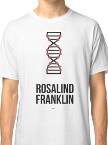 Rosalind Franklin (Dark Lettering) - Clothing & Other Products Classic T-Shirt