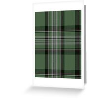 00699 Laggen Dress Tartan  Greeting Card
