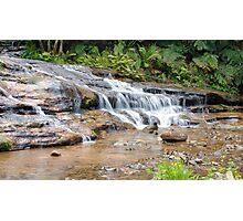At The Bottom - Katoomba Cascades Photographic Print