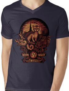 NINETEEN Mens V-Neck T-Shirt