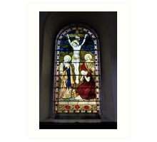 Stained Glass #1 Art Print