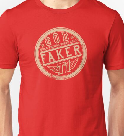 Faker does things (lite) Unisex T-Shirt