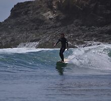 Surfer's Wake by hitomimyhomie