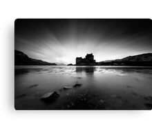Highland High Tide Canvas Print