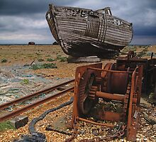 Discarded Dungeness, Kent by Giles Clare