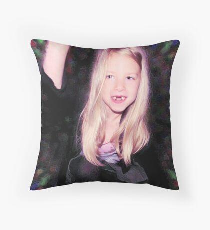 High five :0) Throw Pillow