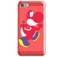 Yoshi (Red) - Super Smash Bros. iPhone Case/Skin