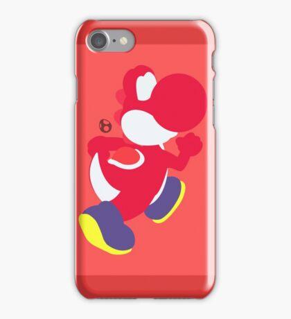 Yoshi (Red) - Super Smash Bros. iPhone Case/Skin