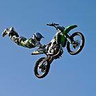 Kawasaki Demo Team - 2011 Australian Grand Prix. by Dean Perkins