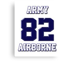 Army 82 Airborne Canvas Print