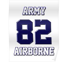 Army 82 Airborne Poster