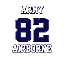 Army 82 Airborne Photographic Print