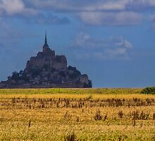 France. Normandy. Mont Saint-Michel. From afar. by vadim19