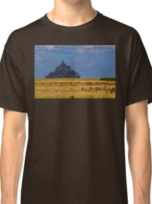 France. Normandy. Mont Saint-Michel. From afar. Classic T-Shirt