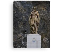 Mary statue Canvas Print