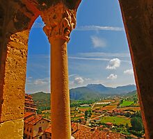 A View To Frias Medieval Town - Burgos, Spain by DavidGutierrez
