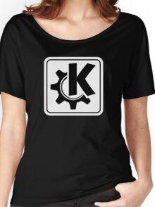 KoquerorWhiteIcon Women's Relaxed Fit T-Shirt