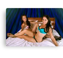 Holly&Teagan Canvas Print