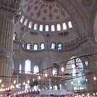 Inside the blue Mosque. by machka