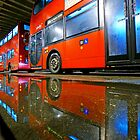 London Double Decker Bus - Vauxhall, South London. by DavidGutierrez