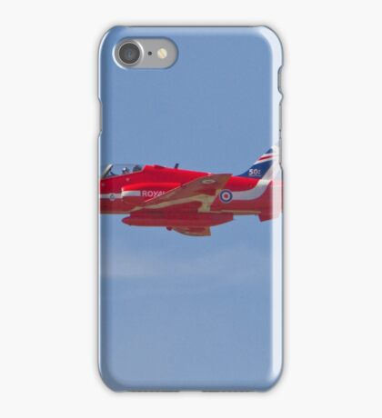 Red Arrows Farnborough Airshow iPhone Case/Skin