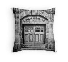 Gawler Chambers Throw Pillow