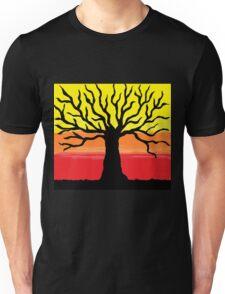 Sunset Tree Unisex T-Shirt