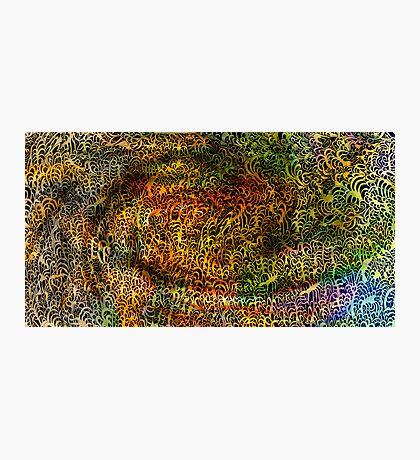 Undersea design warm gold version. Photographic Print