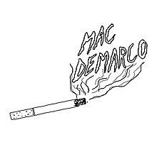 Mac Demarco Cig Photographic Print
