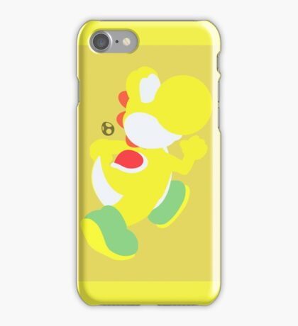 Yoshi (Yellow) - Super Smash Bros. iPhone Case/Skin