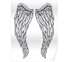 Blessed Angel Wings Poster