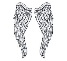 Blessed Angel Wings Photographic Print