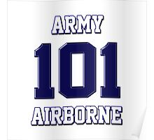 Army 101 Airborne Poster